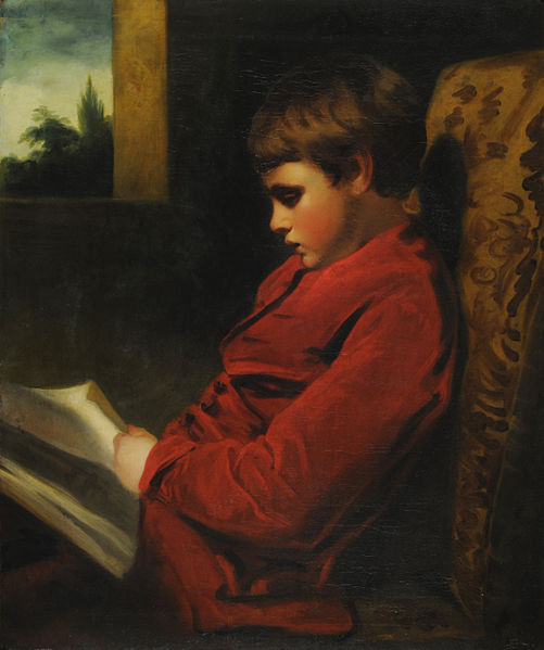 MAS The_reading_boy_-_Joshua_Reynolds